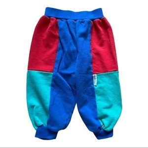 Vintage Healthtex Color Block Jogger Sweatpants